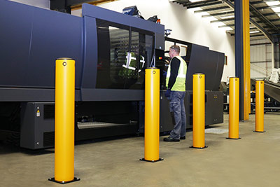 bollards for machinery protection