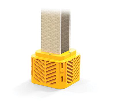flexishield building column protector