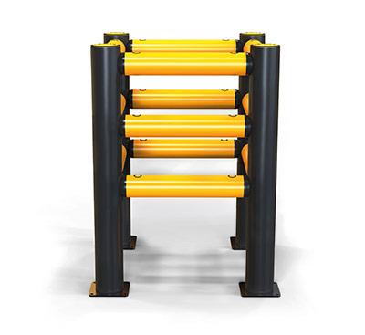 iflex pedestrian column guard rail