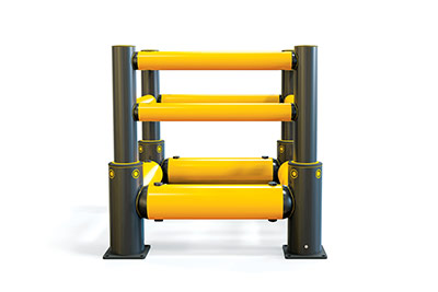 a-safe column guard rail plus