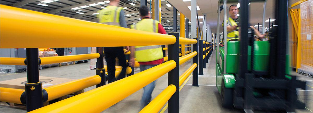 warehouse guard rails