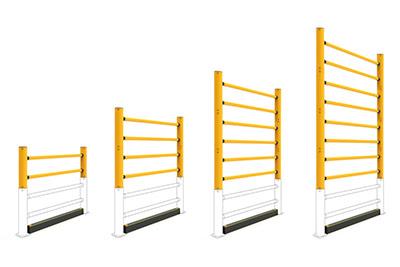 a-safe pallet rack topple guards