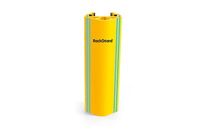 cold storage pallet rack leg protector