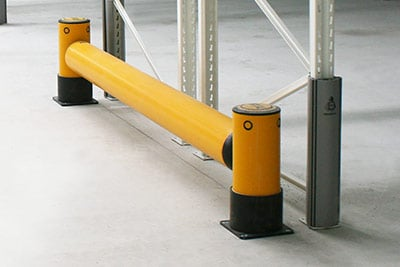 pallet rack end protection