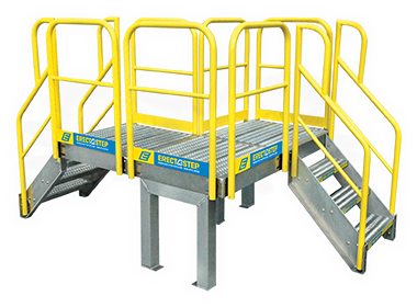 ErectaStep Safety Crossover Stairs and Platforms