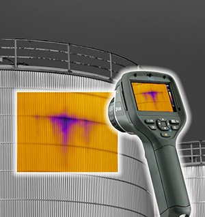 Thermographic Imaging of Tank Insulation