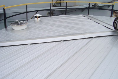 Detail of Storage Tank Roof Insulation