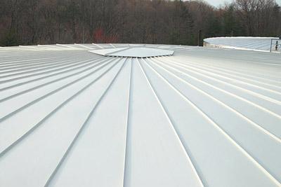 Standing Rib Insulated Storage Tank Roof