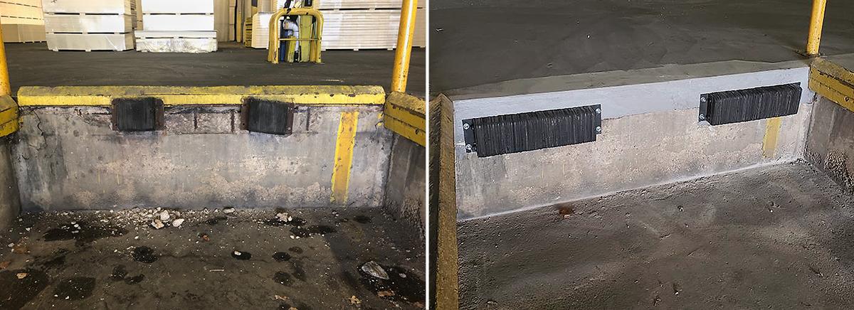 loading dock concrete repair