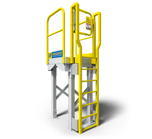 6 step ladder maintenance platform