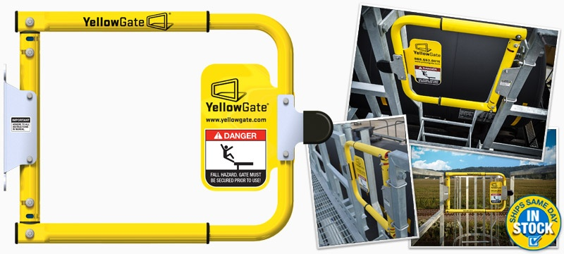 YellowGate Industrial Swing Gate