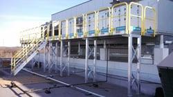 Wide stretch ErectaStep accessc platform