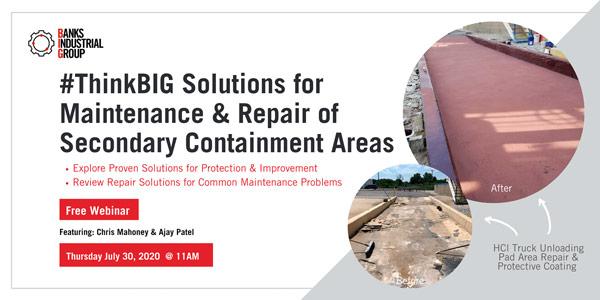 Secondary Containment Repair Webinar Thumbnail