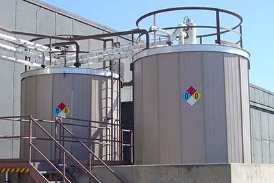 Small Storage Tank Insulation