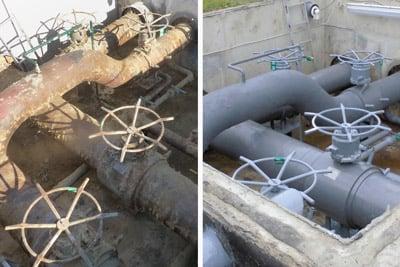 corrosion under insulation pipe repair