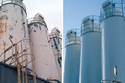storage tank exterior protective coating