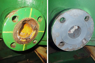Damaged Flange Face Repair