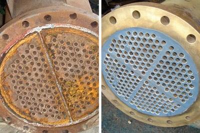 Heat Exchanger Tube Sheet Repair