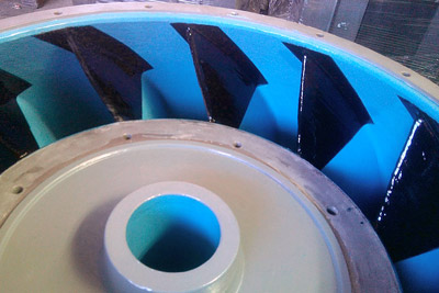 Pump Cavitation Protective Coating
