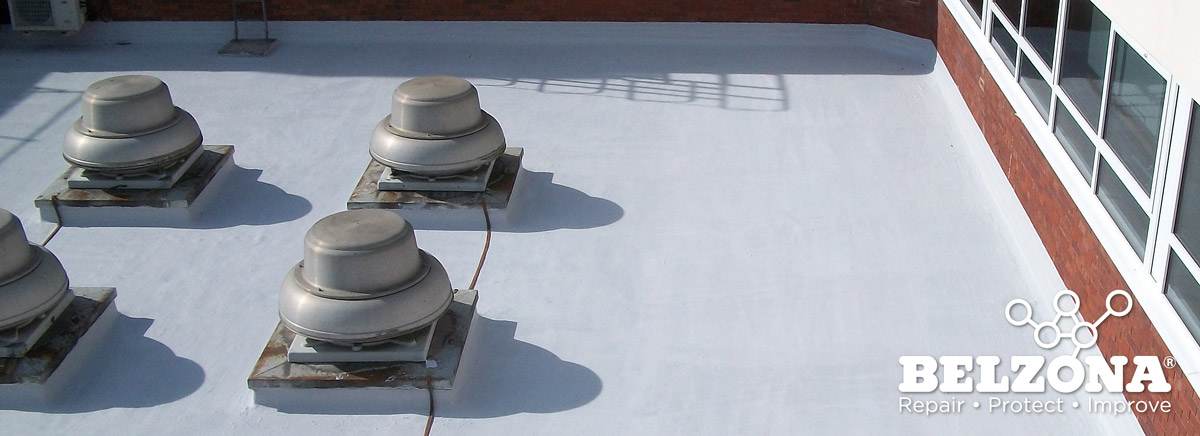 Industrial Flat Roof Coating