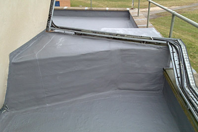 Belzona coatings will easily conform to complex roof shapes