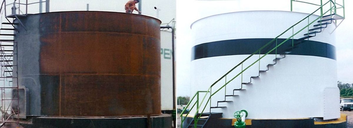 storage tank protective coating