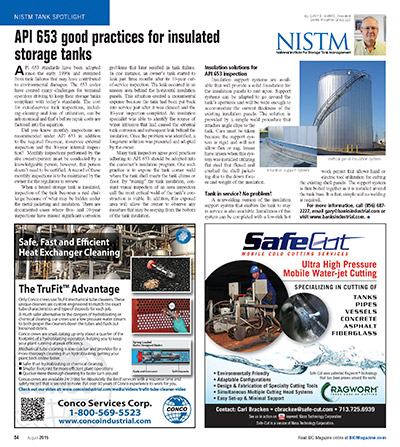 API 653 Good Practices Article Published!