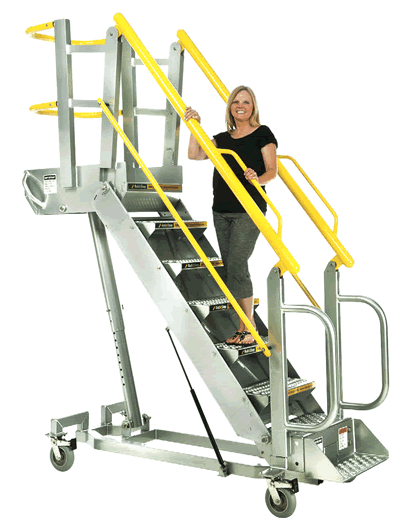 G Series RollaStep Adjustable Height Work Platforms