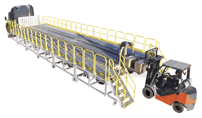 MP Series RollaStep MP Series Rolling Work Platforms Allow Easy and Safe Loading Unloading