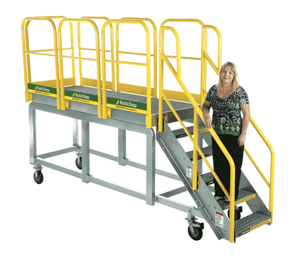 MP Series RollaStep Rolling Work Platform