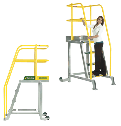 RollaStep Tilt and Roll Work Platforms