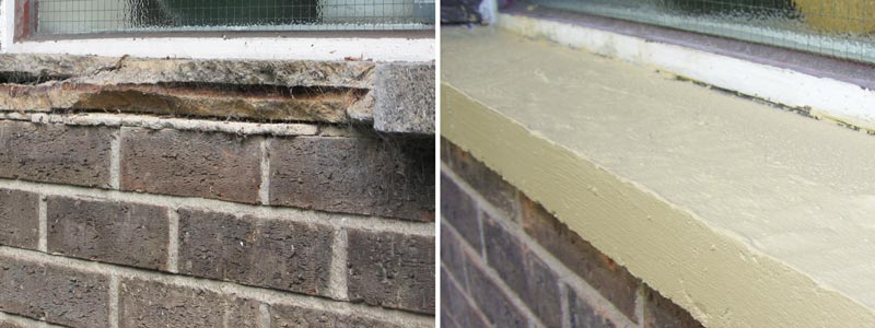 brick and block repairs