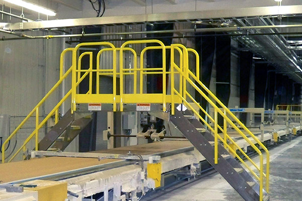 ErectaStep Conveyor Crossover
