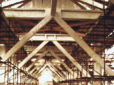 structural steel fire-proofing