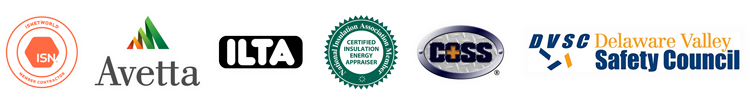 IS Networld Certified, Avetta, ILTA, National Insulation Association Member, COSS, Deleware Valley Safety Council Member