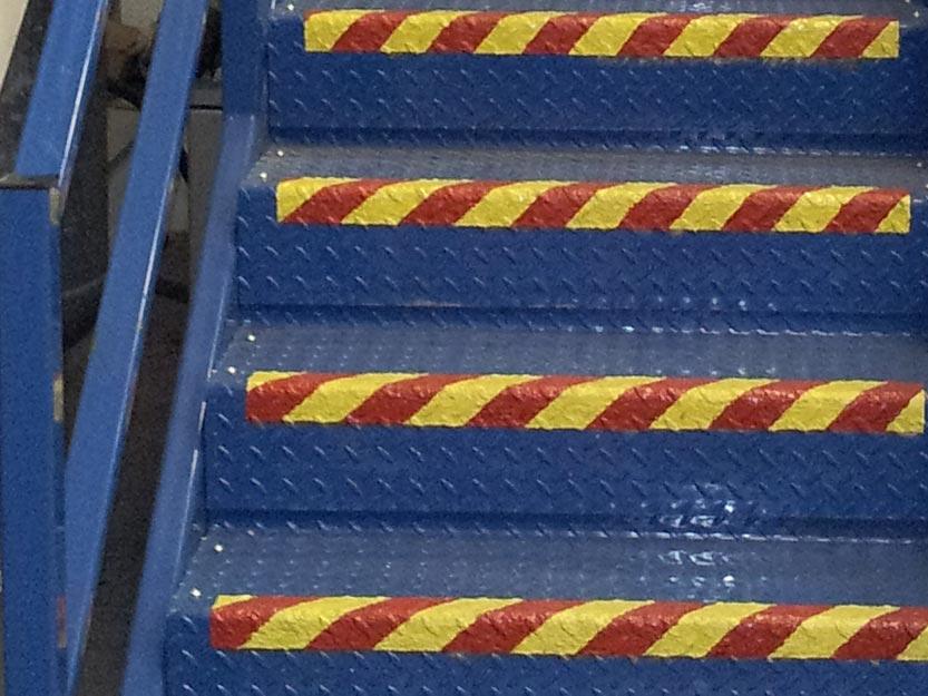 Belzona non-skid walkway coatings