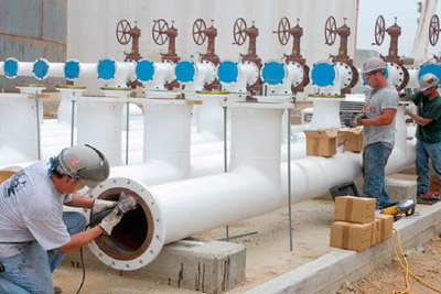 Pipe Workers