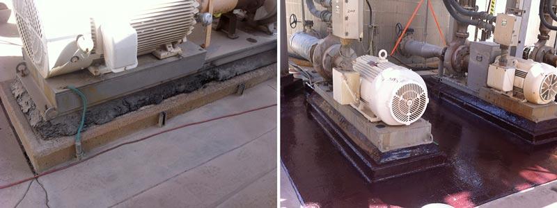 pump base repair