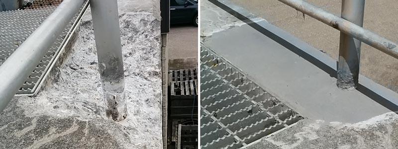 railing repair