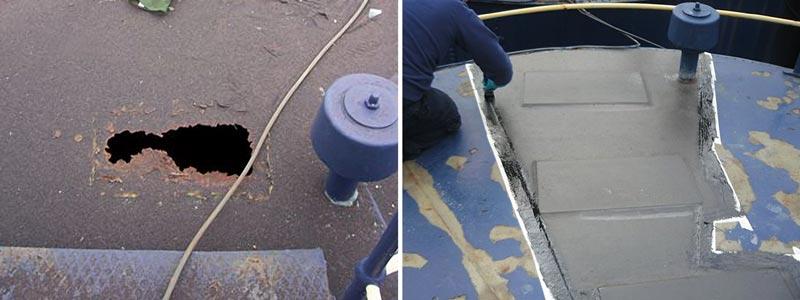 tank roof repair
