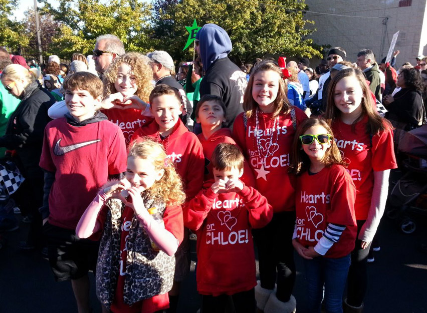 Hearts for Chloe—Camden Walk to Cure Diabetes