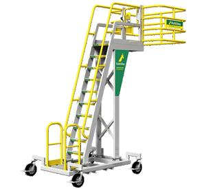 Rolling Stair Cantilever Work Platform