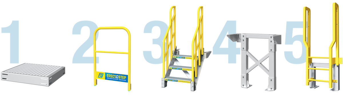 crossover stairs components
