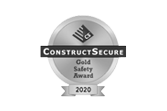 Construct Secure Gold Safety Award 2020