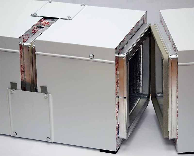 Dual-Tech Pre-Insulated Exterior HVAC Duct System