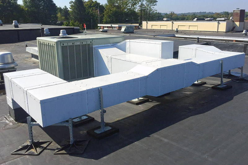 Dual-Tech Pre-Insulated HVAC Duct System