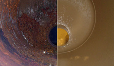 corrosion repair before and ater