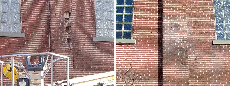 Brick Pointing Repair