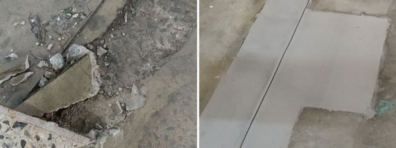 Concrete Expansion Joint Repair