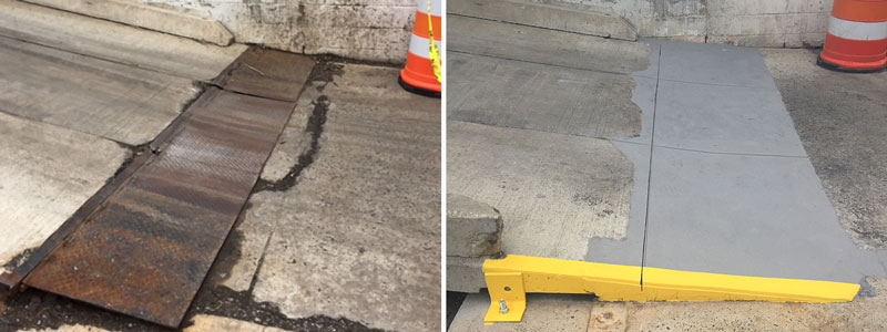 Loading Dock Concrete Repair